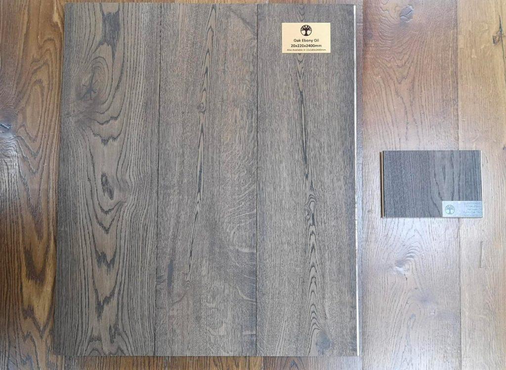 Samples of Wood Flooring