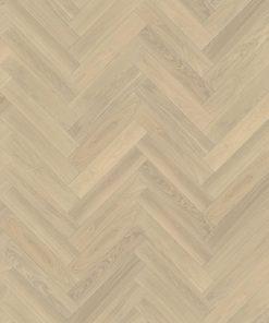 Kahrs - Herringbone Collection - Oak AB White